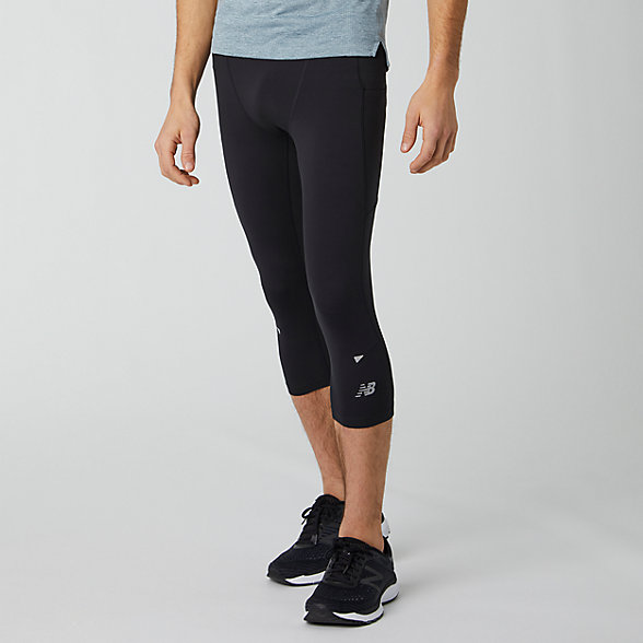 New Balance Impact Run Crop Tight, MP01267BK