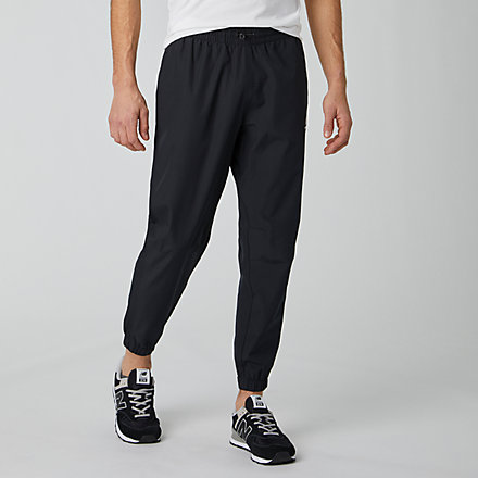 New Balance NB Athletics Wind Pant, MP01502BK image number null