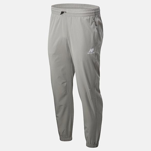 New Balance 男款束脚梭织长裤, MP01502TAG