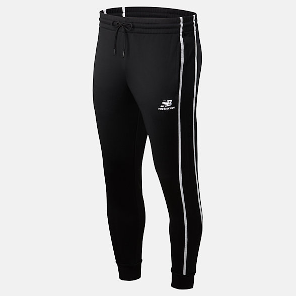 NB Pantaloni NB Athletics Track, MP01503BK