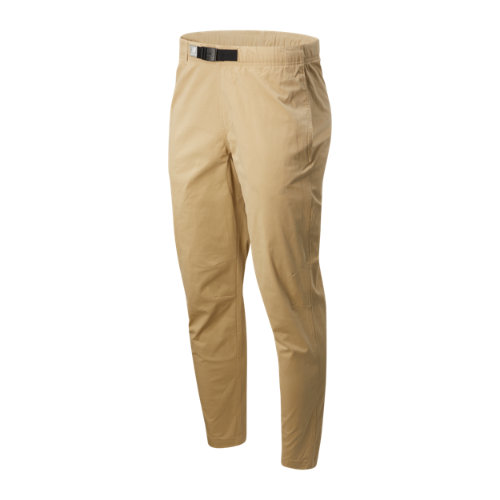 New Balance Hombre NB Athletics Woven Pant - Brown, Brown
