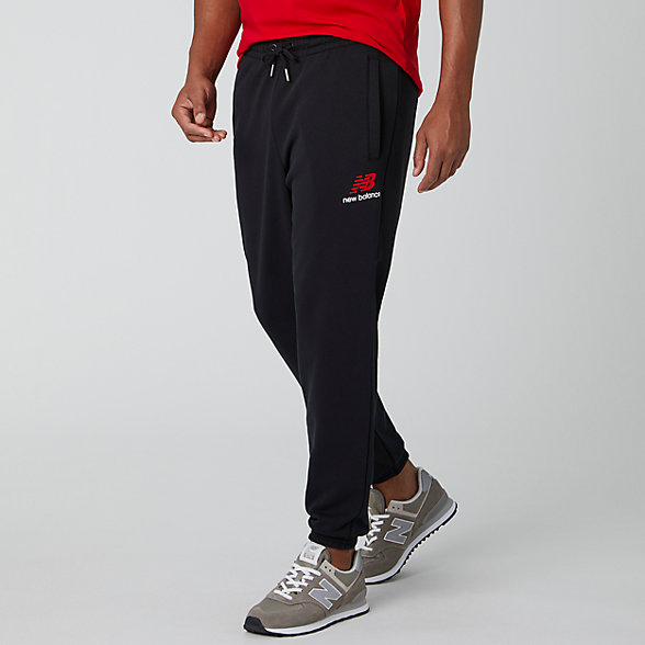 New Balance Pantalon d'entraînement Essentials Icon, MP01508BK