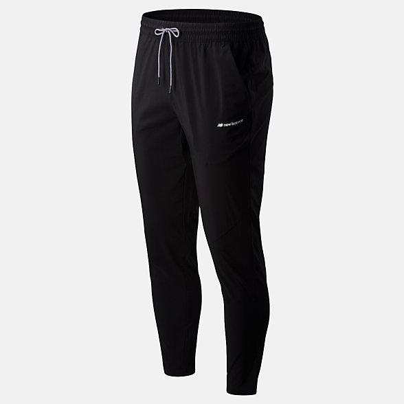 New Balance Pantalon Sport Style tissé, MP01511BK