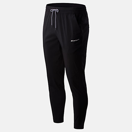 New Balance Sport Style Woven Pant, MP01511BK image number null