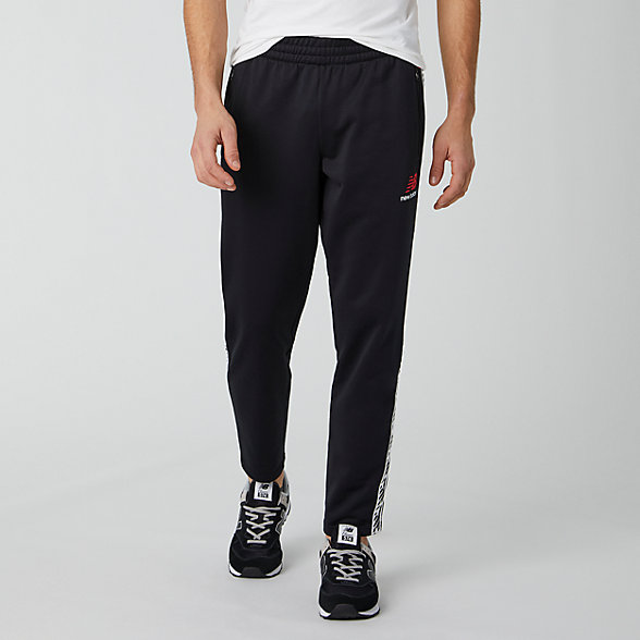 NB Pantaloni Essentials Track, MP01516BK