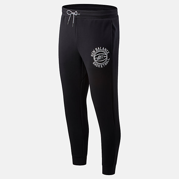 New Balance NB Basketball First Light Pant, MP01675BK
