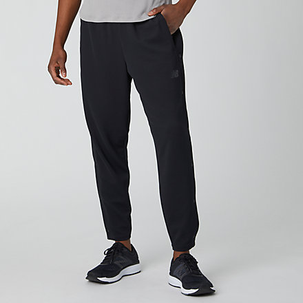 New Balance NB Basketball Finisher Tearaway Pant, MP01784BK image number null