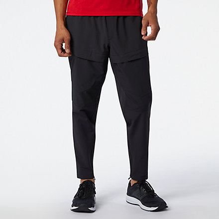 New Balance Fortitech Cargo Pant, MP03177BK image number null