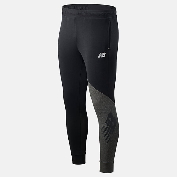 NB Pantalones de running Fast Flight, MP03219BK