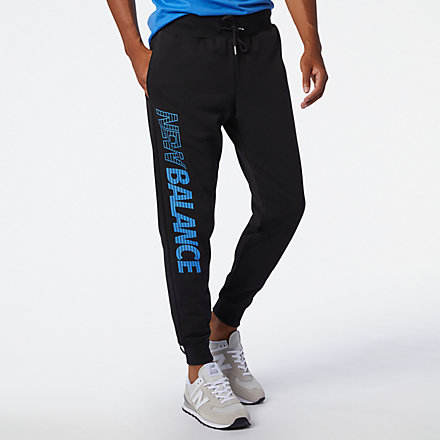 New Balance Essentials Speed Pant, MP03505BK image number null