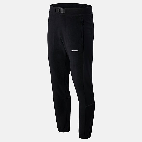 NB Pantaloni Sport Style Micro Fleece, MP03512BK