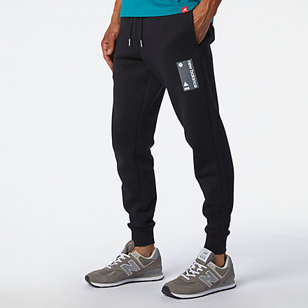 New Balance Essentials Terrain Sweatpant, MP03521BK image number null