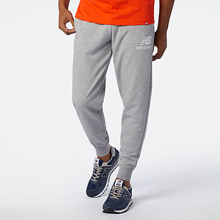 NB Essentials Stacked Logo Sweatpant, MP03558AG image number null