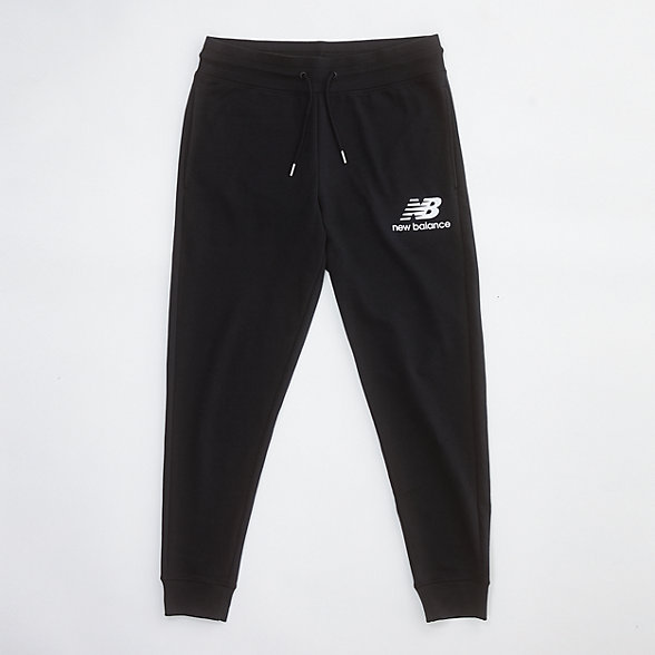 New Balance Essentials Stacked Logo Sweatpant, MP03558BK