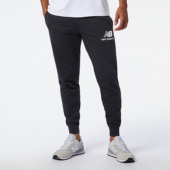 NB Essentials Stacked Logo SweatPants, MP03558BK