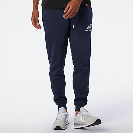 New Balance Essentials Stacked Logo Sweatpant, MP03558ECL image number null
