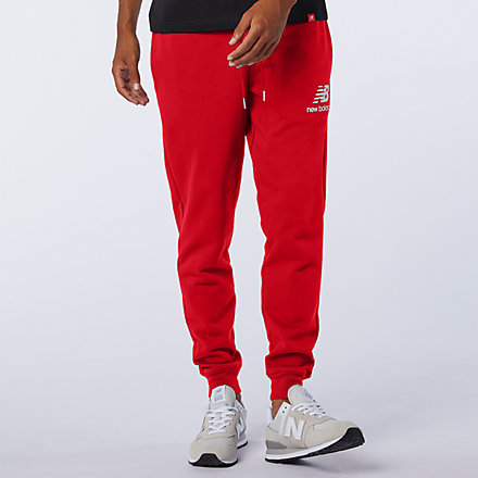 New Balance NB Essentials Stacked Logo Sweatpant, MP03558REP image number null