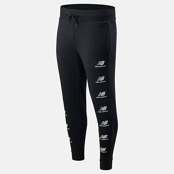 NB Essentials Stack Pack Sweatpant, MP03560BK