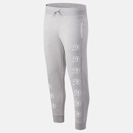 New Balance NYC Marathon Essentials Stack Pack Sweatpant, MP03560MAG image number null