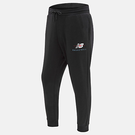New Balance NB Seismic Pant, MP03618BK image number null