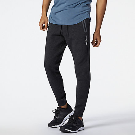 New Balance Fortitech Fleece Pant, MP11143BKH image number null