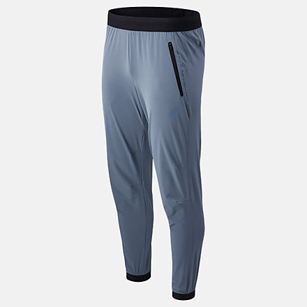 New Balance Fortitech Woven Pant, MP11177OGR image number null