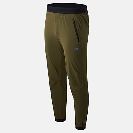 NB Fortitech Woven Pant, MP11177OLG image number null