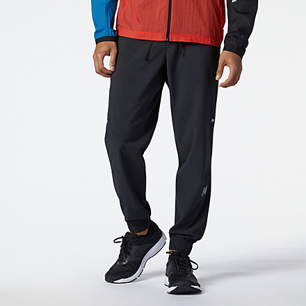 New Balance Impact Run Woven Pant, MP11260BK image number null
