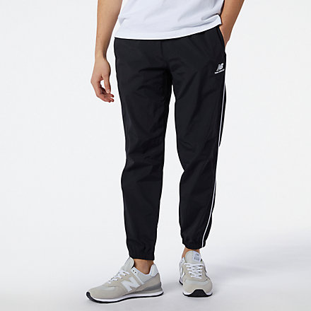 NB NB Athletics Wind Pant, MP11500BK image number null