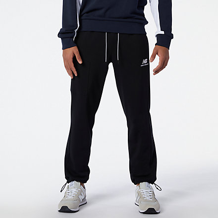 New Balance NB Athletics Fleece Pant, MP11501BK image number null