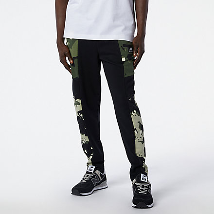 NB NB Essential Camo Sweatpant, MP11513BKM image number null