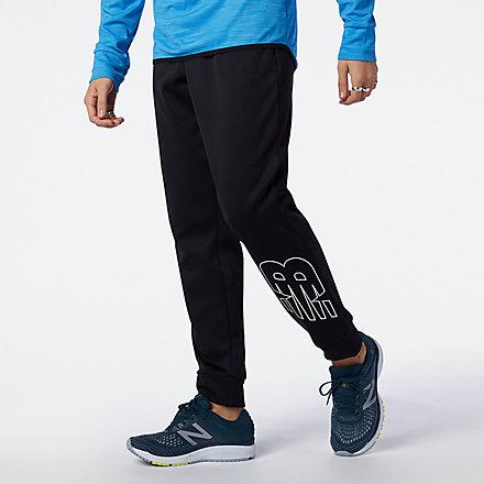 NB Pantalons Tenacity Performance Fleece, MP13022BK image number null