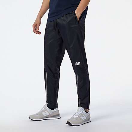 New Balance R.W.T. Lightweight Woven Pant, MP13049BK image number null
