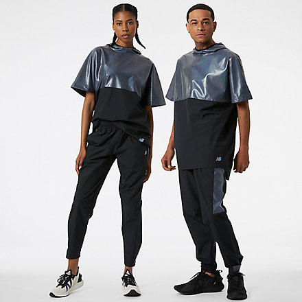 New Balance Syd Warm Up Pant, MP13201BK image number null