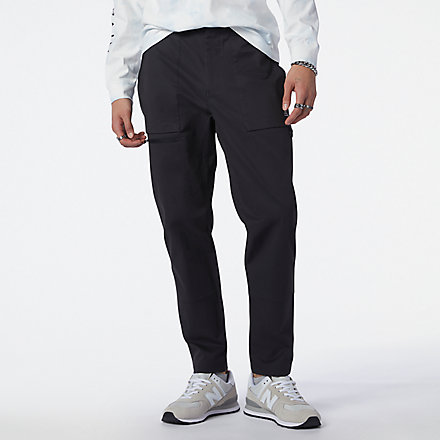 NB NB All Terrain Woven Pant, MP13507BK image number null