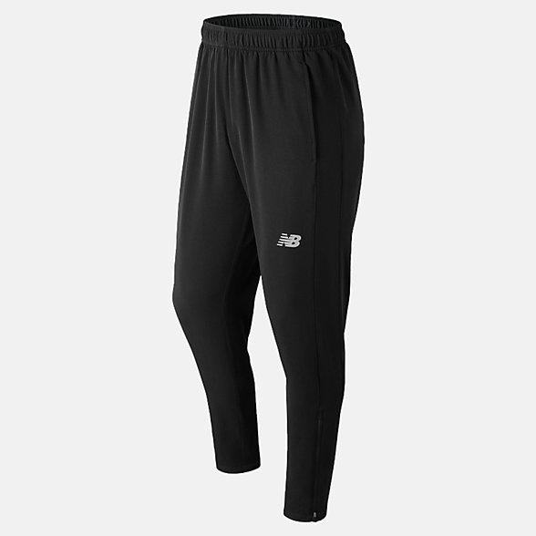 New Balance Pantalon de sport tissé pour la piste Tenacity, MP81087BK