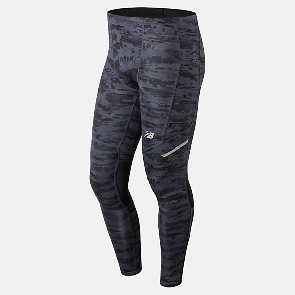 New Balance Impact Printed Tight, MP83229BM