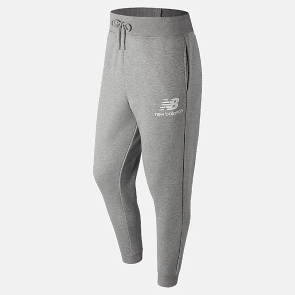 New Balance Pantalon d'entraînement avec logo NB Essentials, MP83580AG