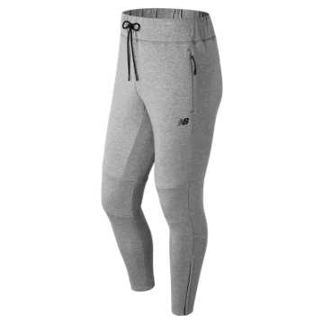 New Balance 247 Luxe Knit Jogger, Athletic Grey