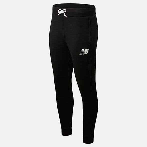 New Balance Core Pant Slim, MP83984BK