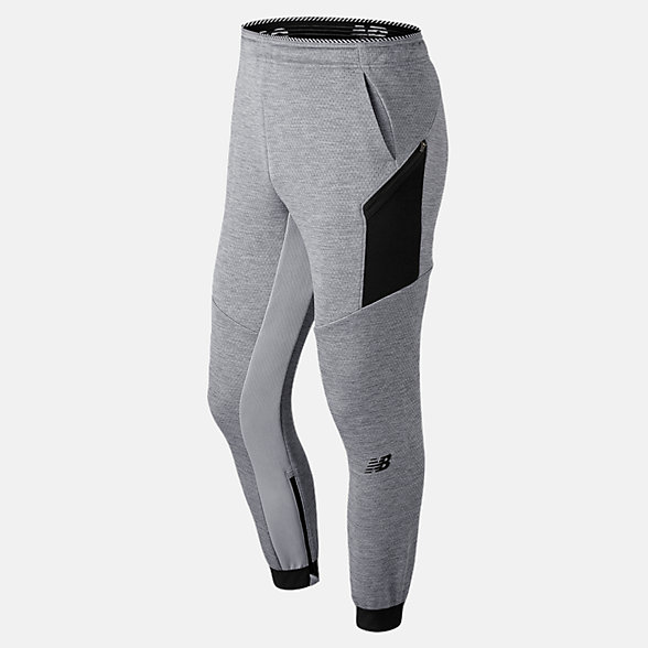 New Balance Pantalon léger en tricot double R.W.T., MP91051AG