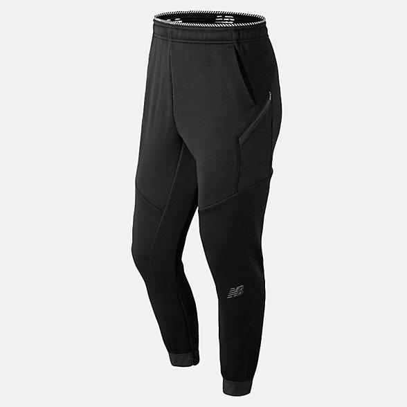 New Balance Pantalon léger en tricot double R.W.T., MP91051BK