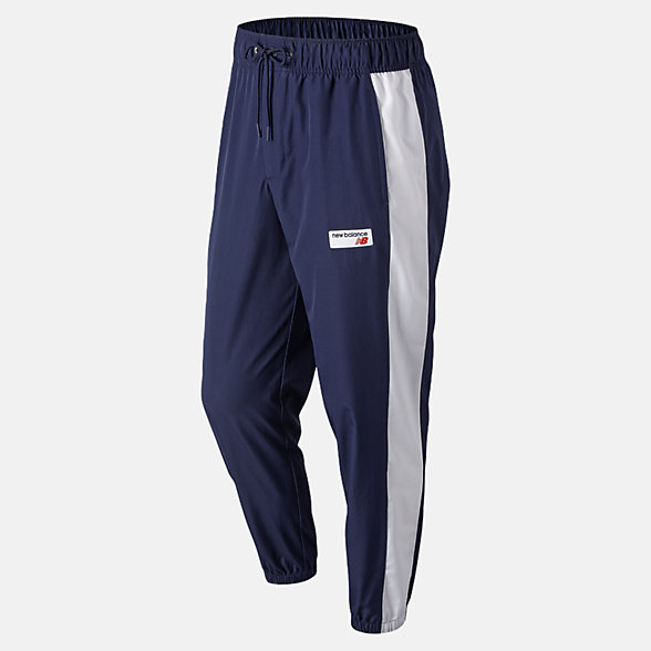 NB Pantaloni NB Athletics Windbreaker, MP91507PGM