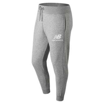870243188 New Balance Essentials Stacked Logo Sweatpant, Athletic Grey