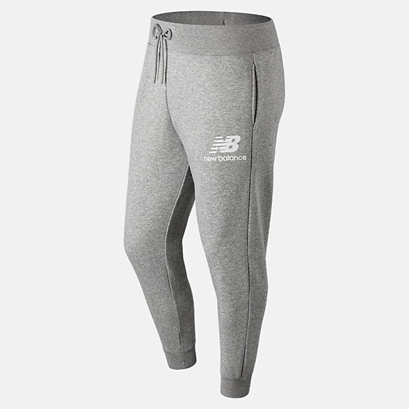 NB Pantalones Deportivos Essentials Stacked Logo, MP91550AG