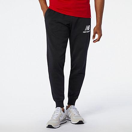 New Balance Pantalon d'entraînement superposé avec logo Essentials, MP91550BK image number null
