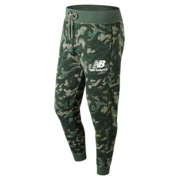 New Balance Essentials Stacked Logo Sweatpant, Mineral Green