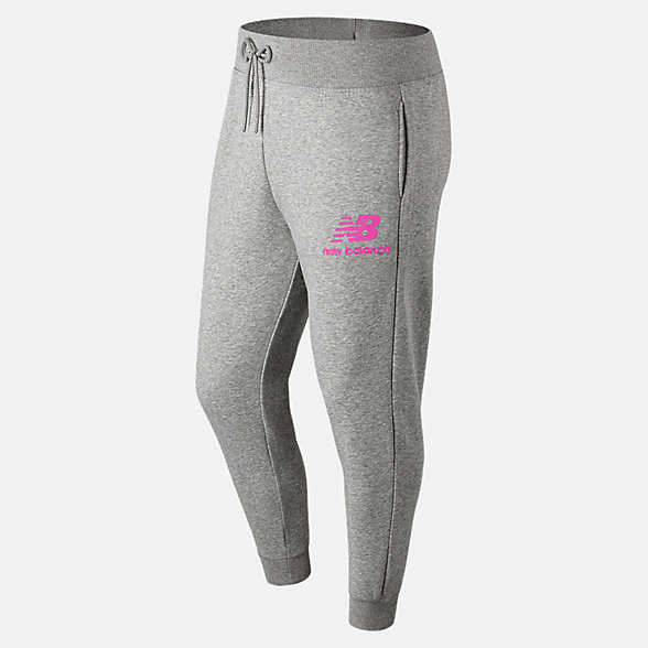 New Balance Essentials Stacked Logo Sweatpant, MP91550PEO