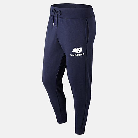 New Balance Pantalon d'entraînement superposé avec logo Essentials, MP91550PGM image number null