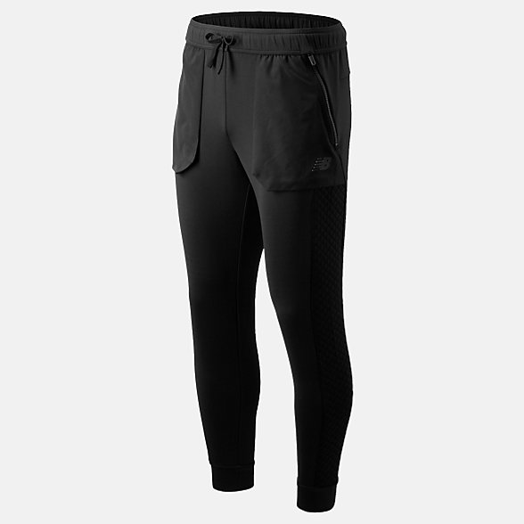 New Balance Pantalon gonflant NB Heat, MP93004BK